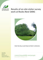Fearnley and Floyd - 2014 - Results of on-site visitor survey work at Rooks Ne